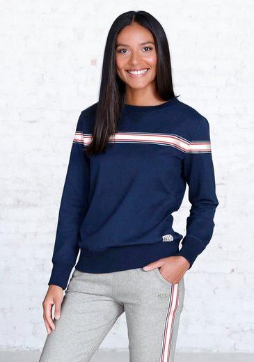 H.I.S Sweatshirt mit gestreiftem Tape