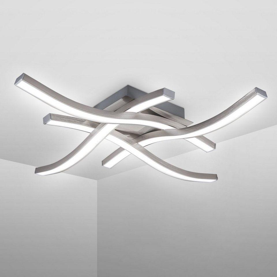 Gold 18 Watt 1400 lm Ø 40 cm LED Deckenleuchte Deckenlampe Lampe Leuchte Weiß