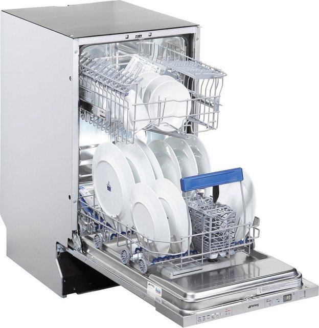 Küchengroßgeräte - Smeg vollintegrierbarer Geschirrspüler, STA4525IN, 9,5 l, 10 Maßgedecke  - Onlineshop OTTO