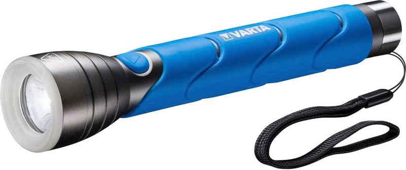 VARTA Taschenlampe »Outdoor Sports F30 Taschenlampe inkl. 3x LONGLIFE Power C Batterien Taschenlampe mit spritzwassergeschütztem Gehäuse (IPX4)«
