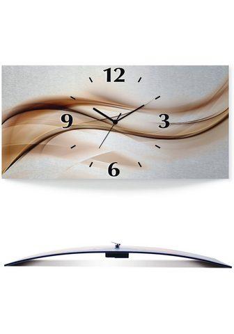 Artland Sieninis laikrodis »Braune abstrakte W...