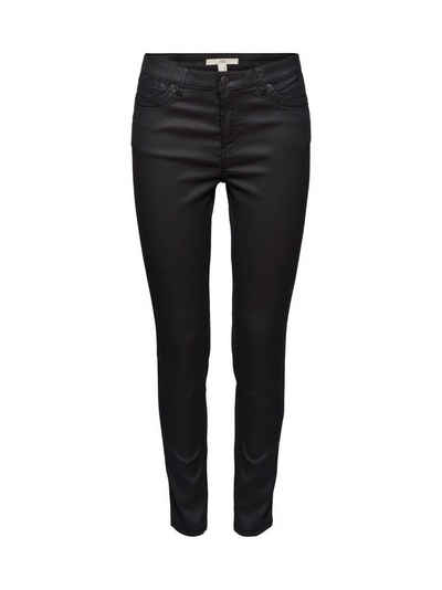 edc by Esprit Stretch-Hose »Coated Ankle-Pants mit Organic Cotton«
