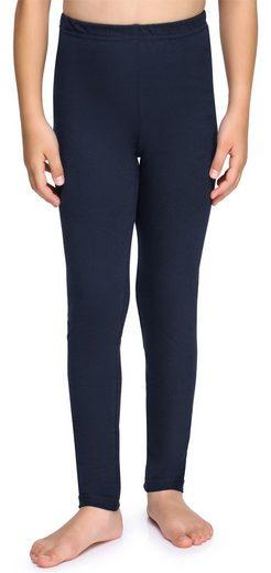 Merry Style Leggings »Mädchen Lange Leggings aus Baumwolle MS10-225« (1-tlg) elastischer Bund