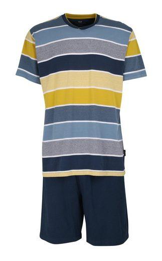 GÖTZBURG Pyjama »Götzburg Herren Schlafanzug Shorty Klima Aktiv«