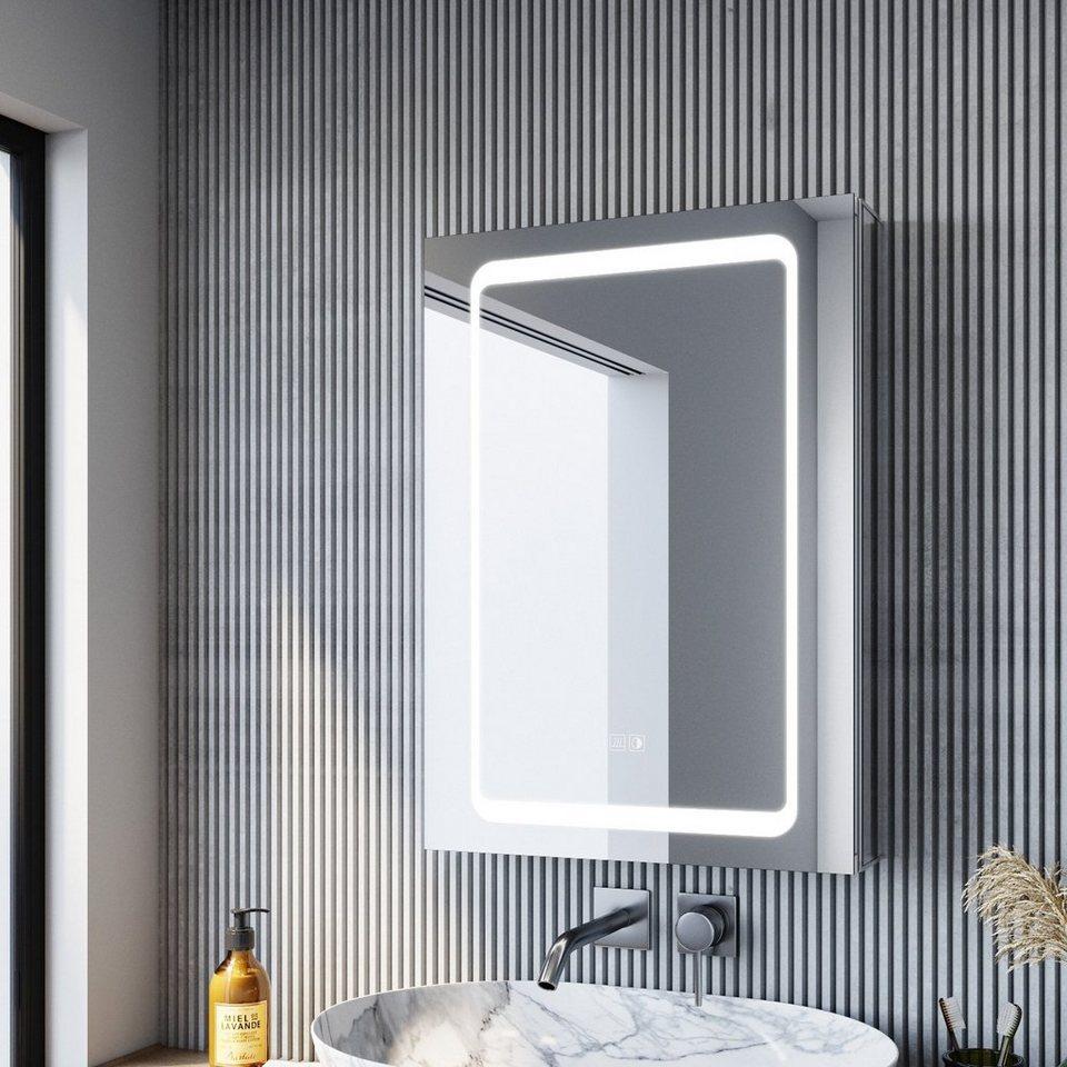 SONNI Spiegelschrank »Bad Badezimmer Spiegelschrank mit LED ...