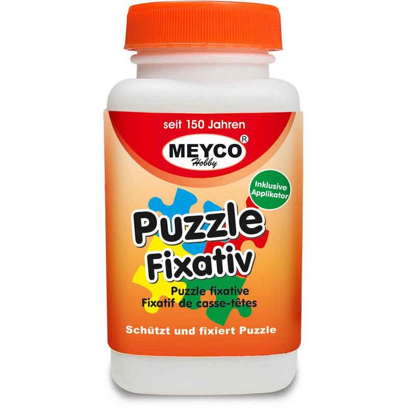 MEYCO Hobby Modellierwerkzeug »Puzzlekleber Fixativ 120 ml − Inkl. Applikator zum Auftragen«, (1 St)