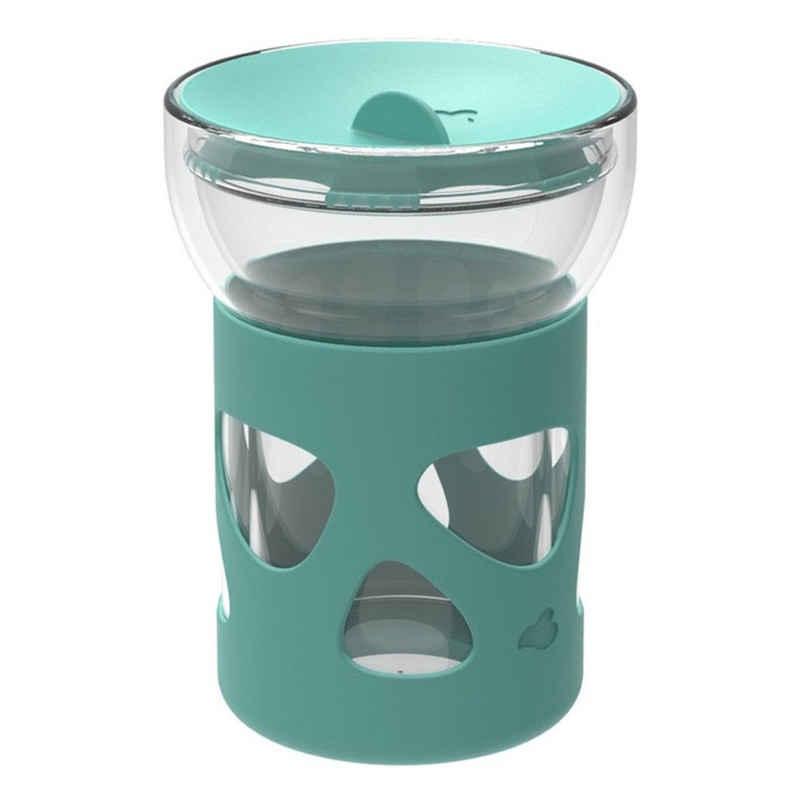 LEONARDO Coffee-to-go-Becher »IN GIRO Grün 250 ml«, Glas