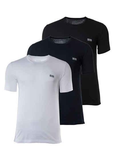 Boss Unterhemd »Herren T-Shirts, 3er Pack - Rundhals, Pure Cotton«