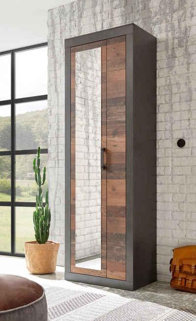 Home affaire Garderobenschrank »BROOKLYN« in dekorativer Rahmenoptik
