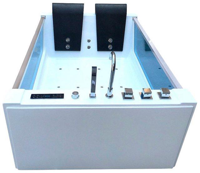 Badewannen und Whirlpools - Whirlpoolwanne »Cadiz XL«, B T H in cm 180 120 60  - Onlineshop OTTO