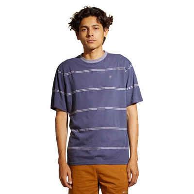 Brixton T-Shirt »Hilt - washed navy/heather grey«