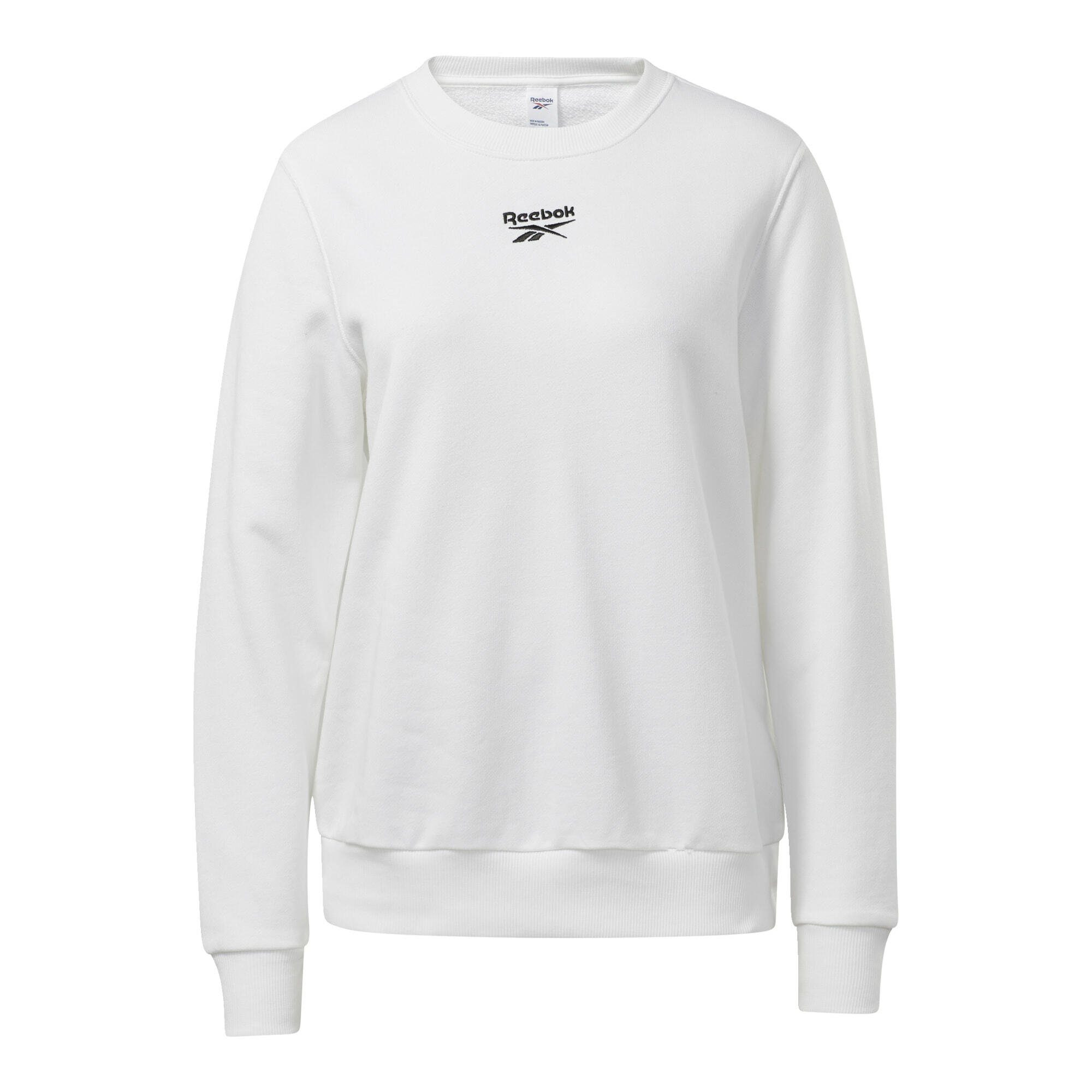 Details about Reebok Classics Vector Crew Sweatshirt Womens Size Large