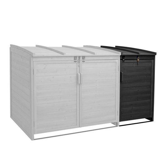 MCW Mülltonnenbox »MCW-H75-E«, Erweiterbar, abschließbar, stabiles Gestell
