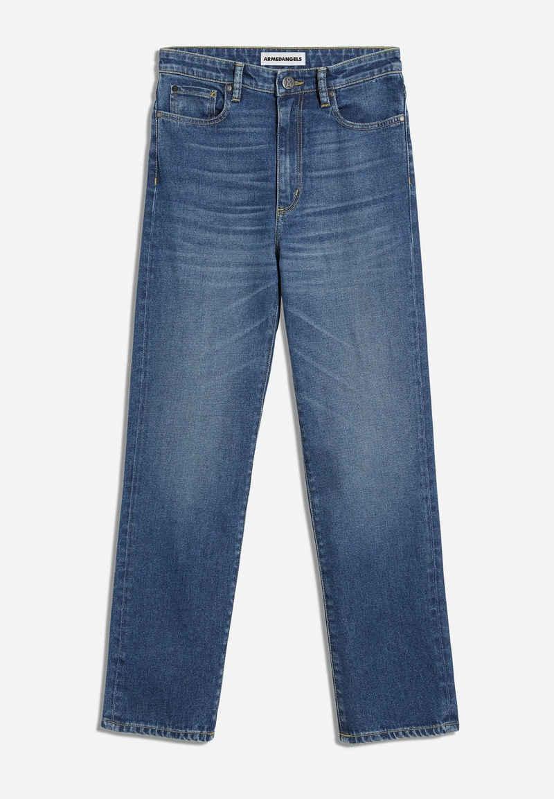 Armedangels Slim-fit-Jeans »LEJAA Damen Slim Fit High Waist Slim Fit« (1-tlg)