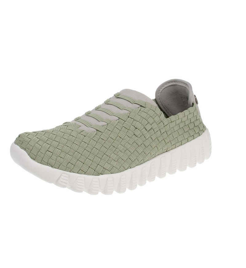 BERNIE MEV »bm62 zip vivaldi-Moss-37« Sneaker