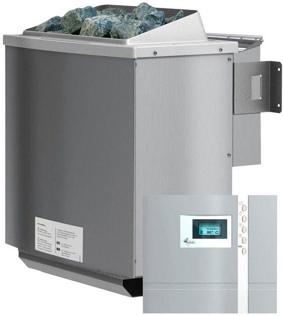 KARIBU Saunaofen »4,5 kW Bio-Kombiofen«, inkl. ext. Steuerung »Premium Bio« und 18 kg Saunasteine | Bad > Sauna & Zubehör > Saunaöfen | Karibu