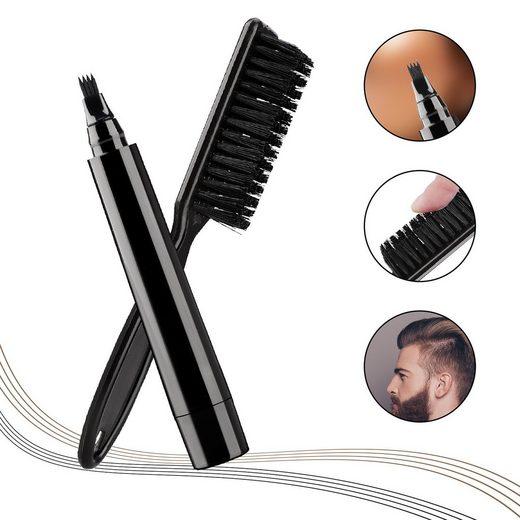 Gotui Bartbürste »Bartstift«, Bartfüllstiftbürste,Schnurrbartstift,wasserdicht,schwarz