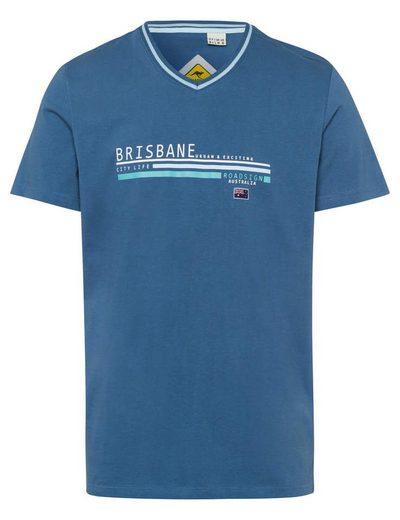 ROADSIGN australia T-Shirt »Brisbane Leisure« mit Kontrast-Kragen