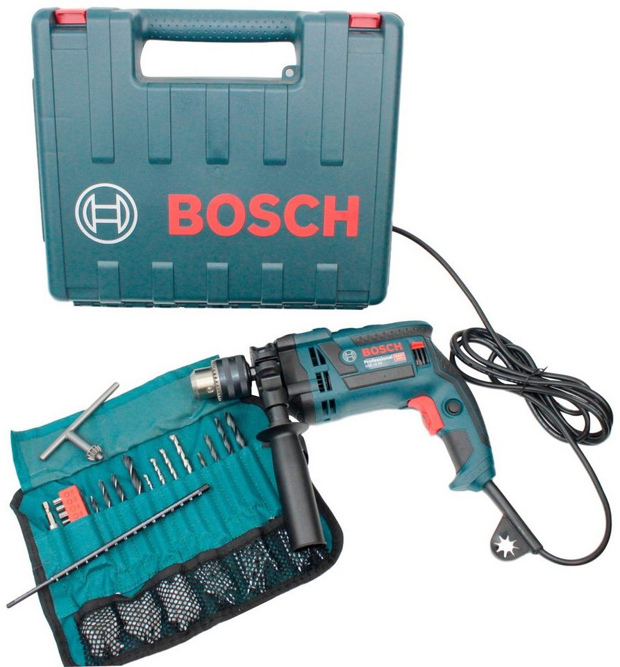 Bosch Professional Schlagbohrmaschine »GSB 16 RE«, 230 V, max. 3250 U/min, (Set), mit Koffer