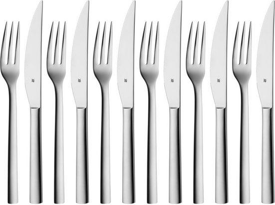 WMF Steakbesteck »Nuova«, Solide Monobloc Steakmesser
