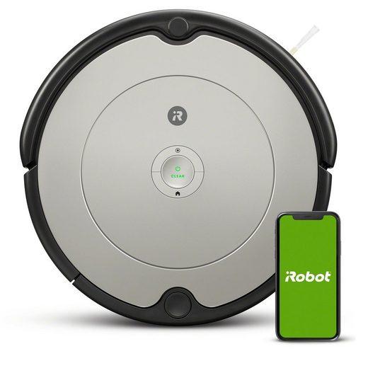 iRobot Saugroboter ROOMBA 698, App-Steuerung, Sprachassistent, 3 Reinigungsstufen, Dirt Detect-Technologie, AeroVac Filter