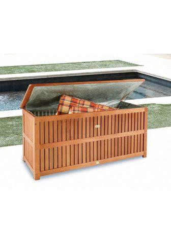 Garden Pleasure Auflagenbox Eukalyptusholz