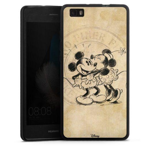 DeinDesign Handyhülle »Minnie&Mickey« Huawei P8 Lite (2015-2016), Hülle Mickey Mouse Offizielles Lizenzprodukt Minnie Mouse