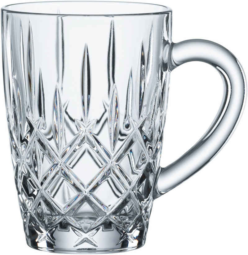 Nachtmann Teeglas »Noblesse«, Kristallglas, mit Schliff, 347 ml, 2-teilig