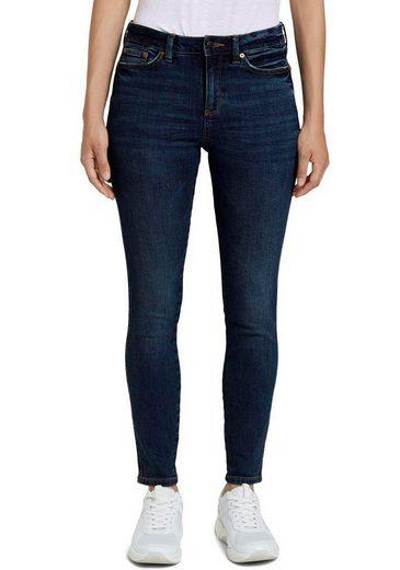 TOM TAILOR Denim Skinny-fit-Jeans mit modernen Washed-Effekten