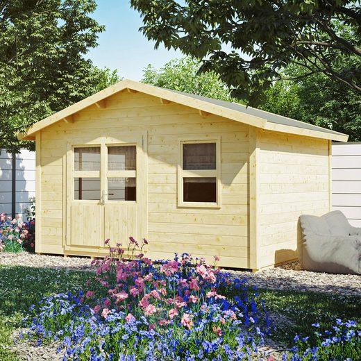 KONIFERA Gartenhaus »Blankenese 5«, BxT: 412x343 cm