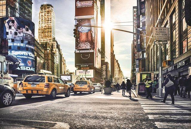 Komar Vliestapete, Time Square, 368/248 cm