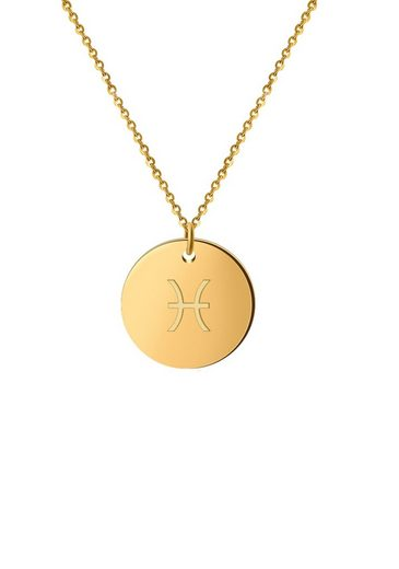 GOOD.designs Halsband »Horoskop Kette Fische«