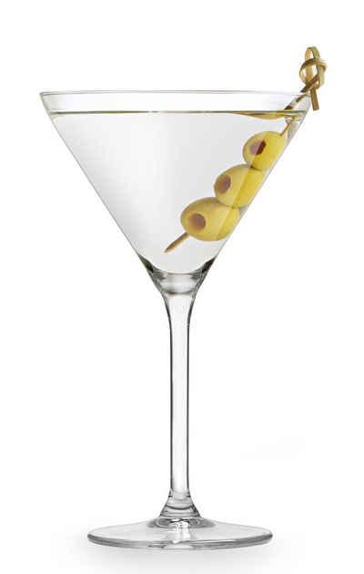 van Well Cocktailglas »Martini«, Glas, 260 ml, im Geschenkkarton, 4-teilig