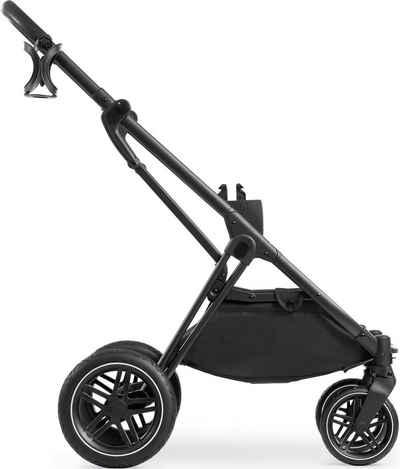Hauck Kombi-Kinderwagen »Vision X Frame«, Kinderwagengestell mit schwenk- und feststellbaren Vorderrädern; Kinderwagen