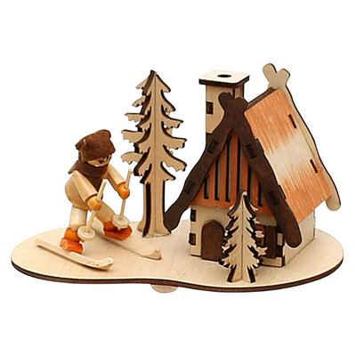 SIGRO Räucherhaus »Holz Räucherhaus Winterfigur«
