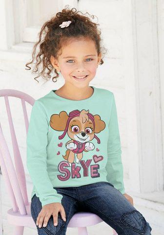 PAW PATROL Marškinėliai ilgomis rankovėmis »SKYE«...