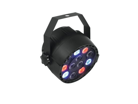 EUROLITE Discolicht »PARty Spot 12x1W RGBW - Partyscheinwerfer mit 4 Farben - Automatik-, Musik- oder DMX-Steuerung Ideal für die Beleuchtung des Partyraums«