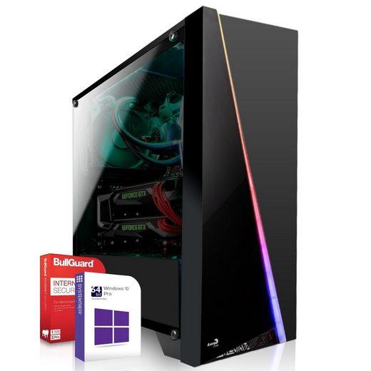 SYSTEMTREFF High-End Edition 91468 Gaming-PC (AMD Ryzen 3 3200G, Nvidia Geforce RTX 2070 8 GB, 8 GB RAM, 256 GB SSD)