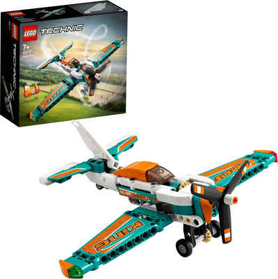 LEGO® Konstruktionsspielsteine »Rennflugzeug (42117), LEGO® Technic«, (154 St)