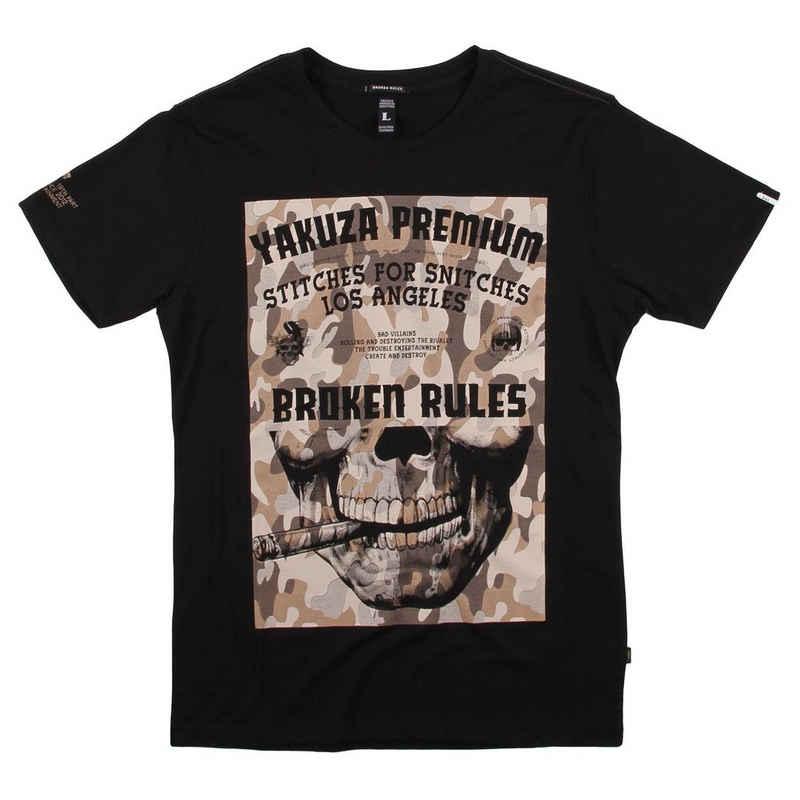 Yakuza Premium T-Shirt »Yakuza Premium Herren T-Shirt 3105 black« (1-tlg)