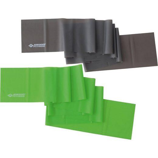 Schildkröt-Fitness Fitnessmatte »Fitnessbänder 2er Set (Latexfrei)«