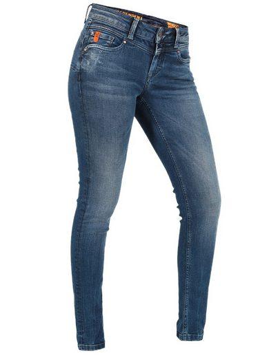 Miracle of Denim Slim-fit-Jeans »Ellen« Jeanshose mit Stretch