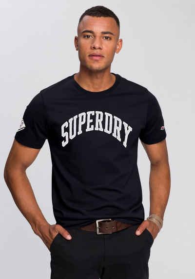 Superdry Rundhalsshirt »VARSITY ARCH MONO TEE«