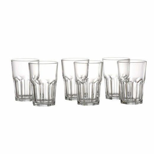 Ritzenhoff & Breker Longdrinkglas »Ola 6er Set«, Glas