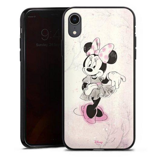 DeinDesign Handyhülle »Minnie Watercolor« Apple iPhone Xr, Hülle Minnie Mouse Disney Vintage