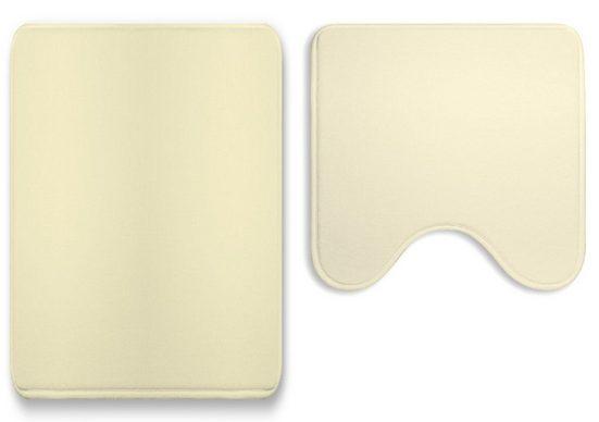 Badematte »Soft« One Home, Höhe 15 mm, 2-tlg. Set, fußbodenheizungsgeeignet, rutschhemmender Rücken