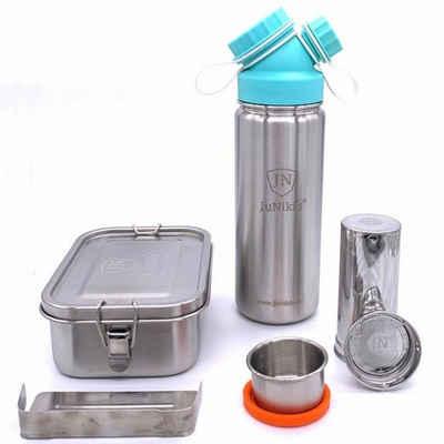 JN JuNiki´s Lunchbox »Set Trinkflasche Lunchbox«, Edelstahl, (Set, 3-tlg)