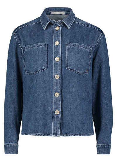 Betty&Co Blusenshirt »im Jeans-Look« Form