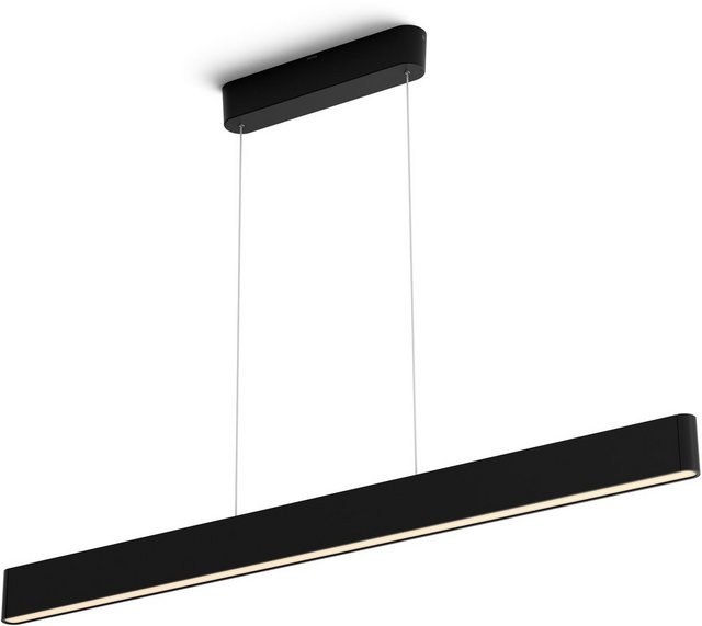 Philips Hue LED Pendelleuchte schwarz 6.000 Lumen