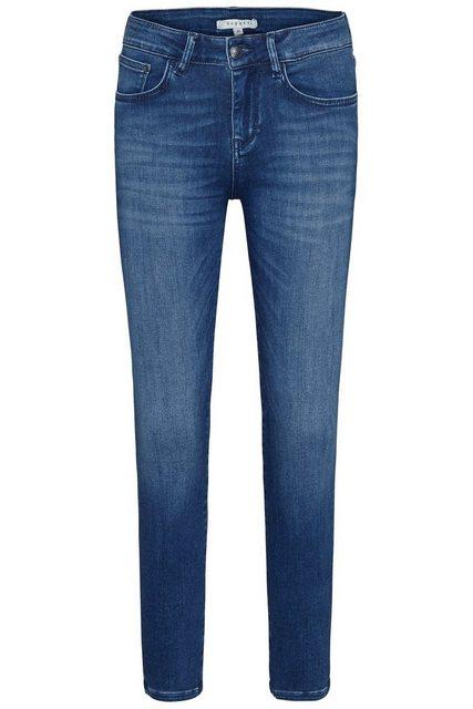 Hosen - bugatti 5 Pocket Jeans mit leichter Used Optik › blau  - Onlineshop OTTO
